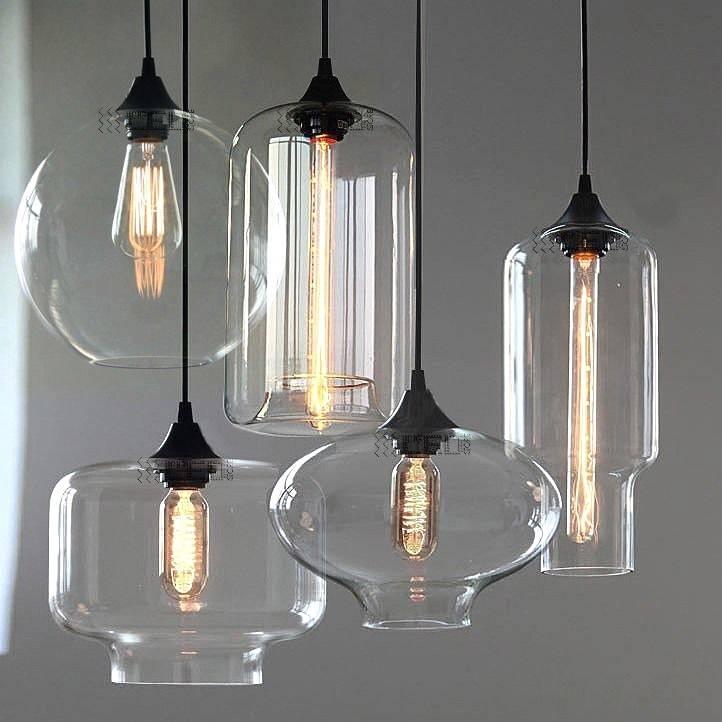 Hanging Glass Pendant Lights | Lightings And Lamps Ideas Throughout 2017 Modern Glass Pendant Lighting (View 3 of 15)