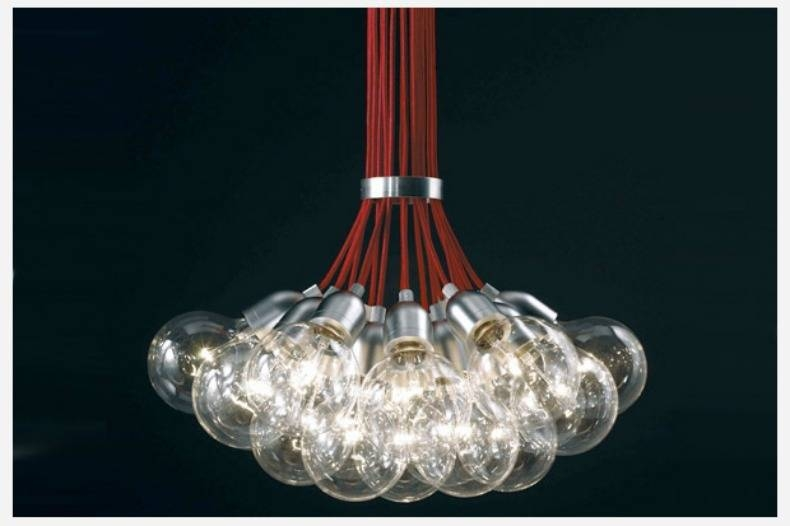 Heather Horwitz Design: Design Diy: Exposed Bulb Pendant Chandeliers Regarding Bare Bulb Cluster Pendants (View 13 of 15)
