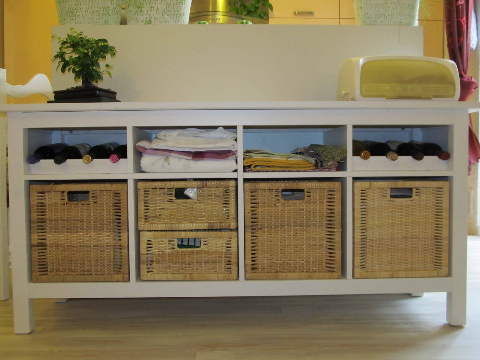 Hemnes Buffet With Bottle Holders – Ikea Hackers – Ikea Hackers For Sideboards And Buffets Ikea (View 8 of 15)