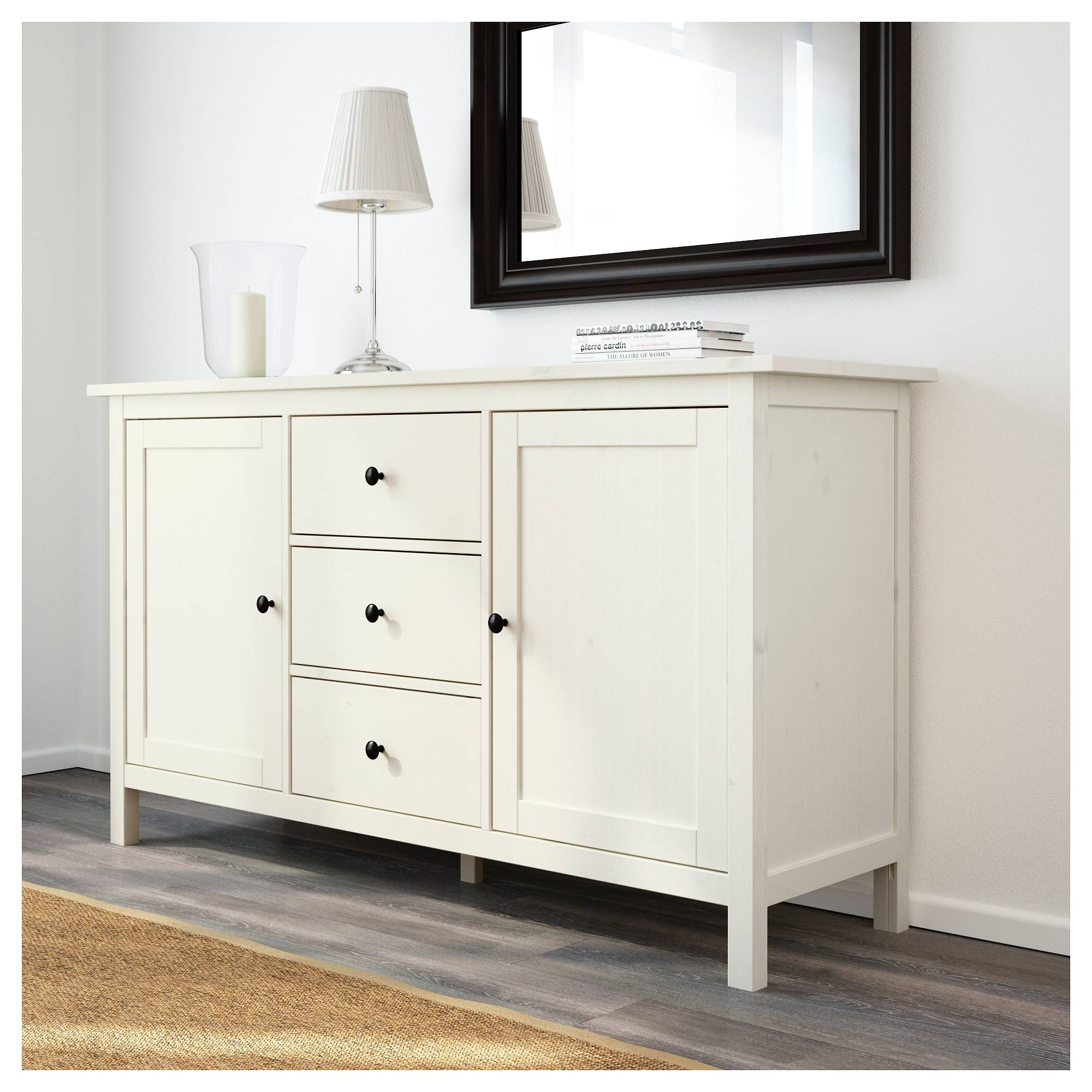 Hemnes Sideboard – White Stain – Ikea With Bedroom Sideboards (View 4 of 15)