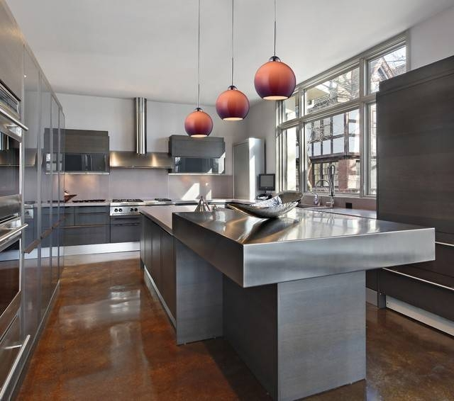 Popular Photo of Contemporary Pendant Lighting For Kitchen