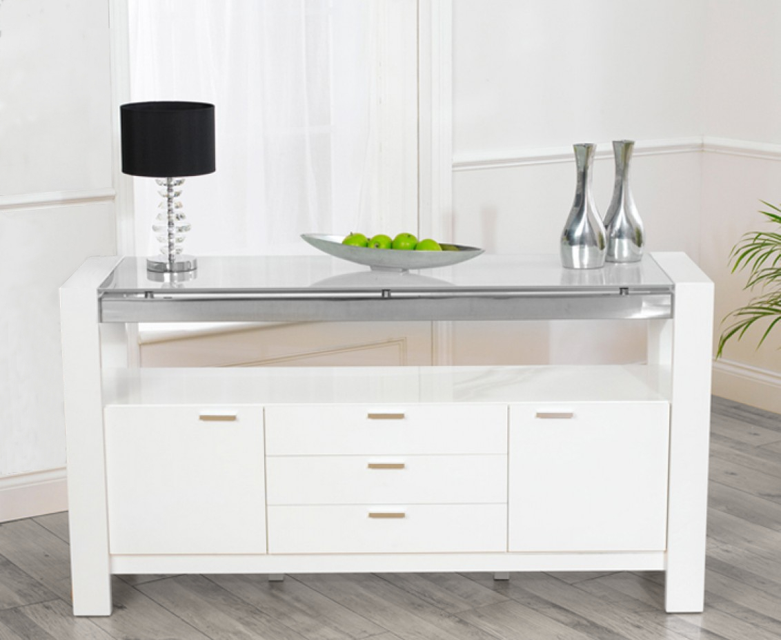 15 Photo Of Cheap White High Gloss Sideboards