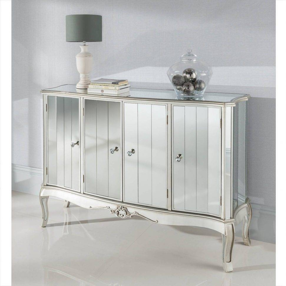 Home Design : Delightful Mirrored Sideboards Vintage Sideboard For White Mirrored Sideboards (#3 of 15)