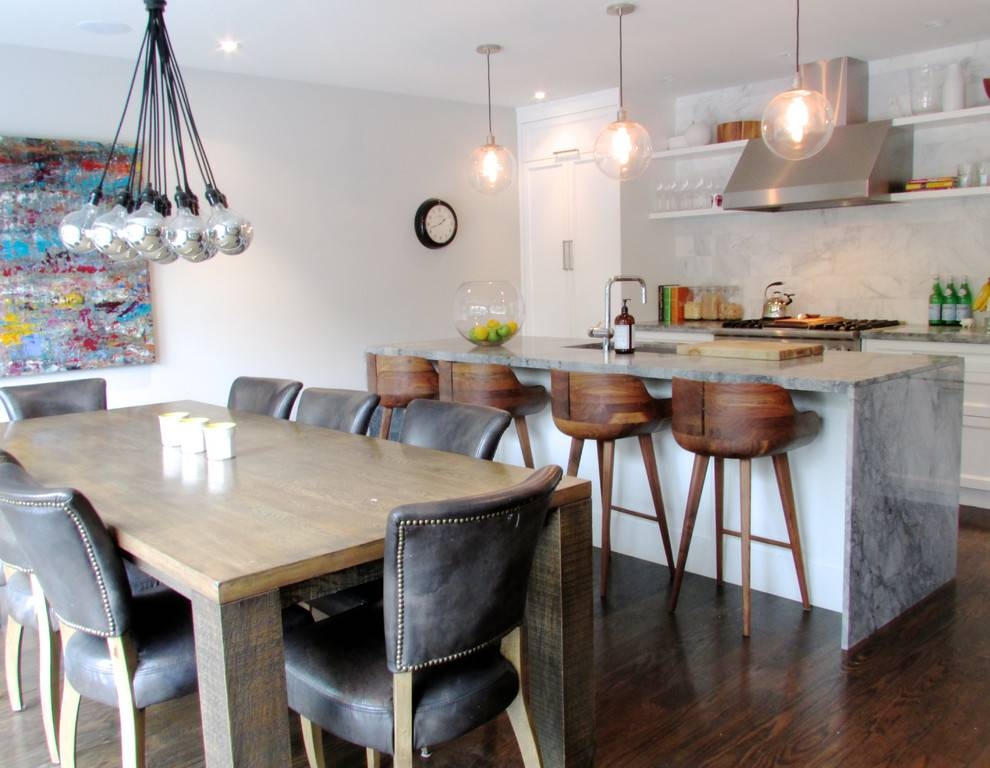 Houzz Dining Room Chairs – Moncler Factory Outlets Throughout Most Popular Multiple Bulb Pendant Lights (View 15 of 15)