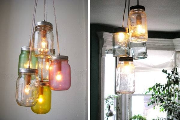 How To: Hanging Mason Jar Lights – Design & Trend Report – 2Modern Inside Mason Jar Pendant Lights (#8 of 15)