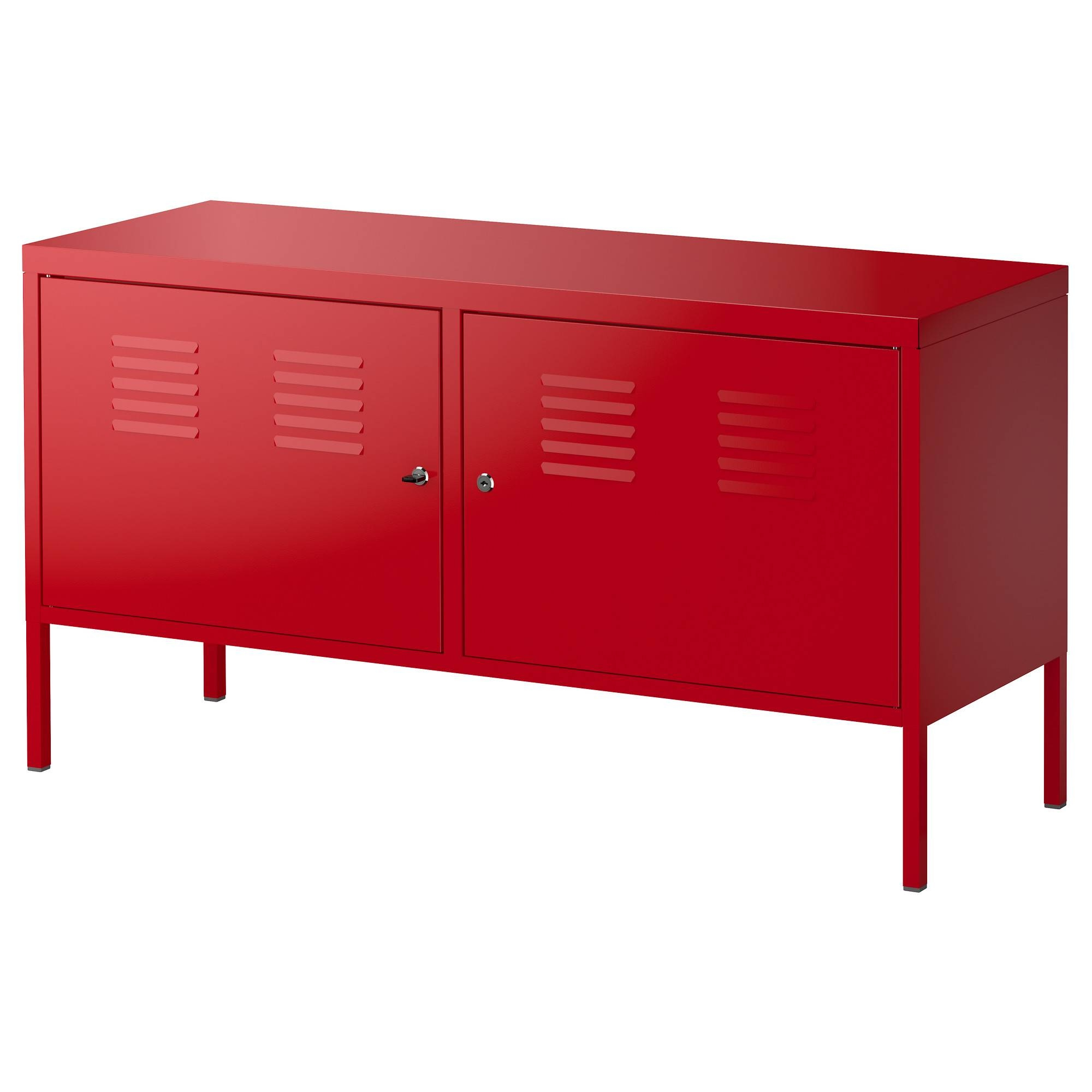 Inspiration about Ikea Ps Cabinet – Red – Ikea Throughout Metal Sideboard Furniture (#8 of 15)