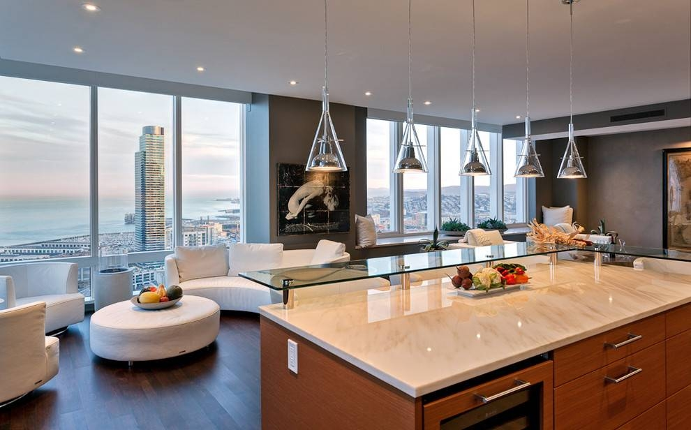 Impressive Modern Kitchen Pendant Lights Modern Kitchen Pendant Intended For 2018 Pendant Lighting For Contemporary Kitchen (#9 of 15)