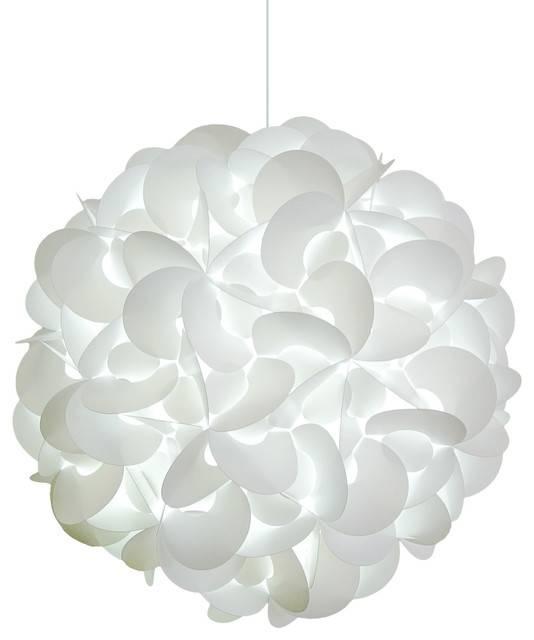Impressive White Pendant Light Akari Lanterns Deluxe Rounds Regarding Recent Akari Pendants (View 11 of 15)