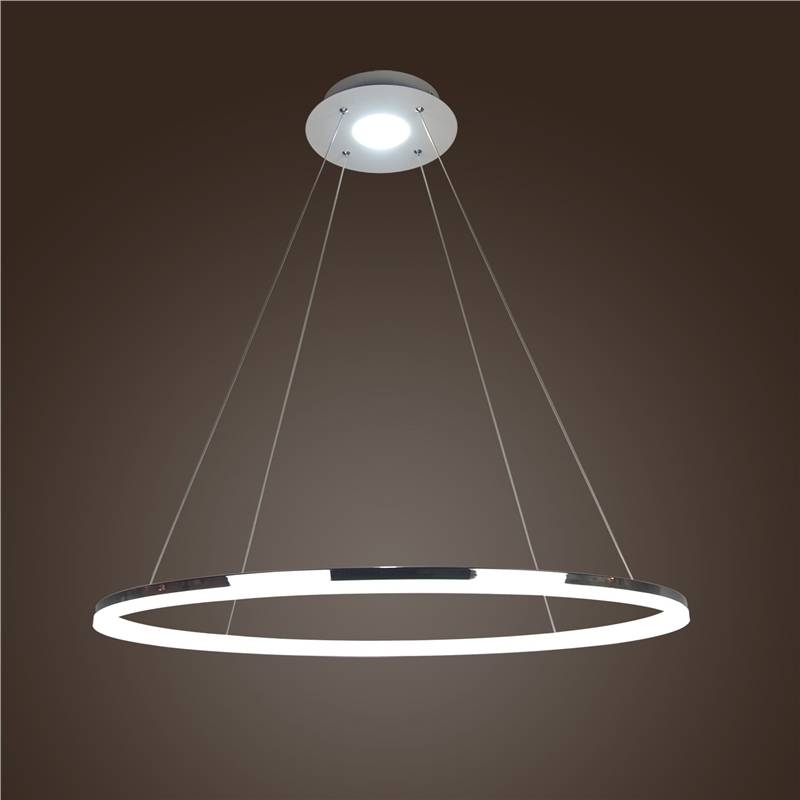 In Stock) Ceiling Lights Modern Led Acrylic Pendant Light Living Pertaining To Most Up To Date Modern Led Pendant Lights (#7 of 15)