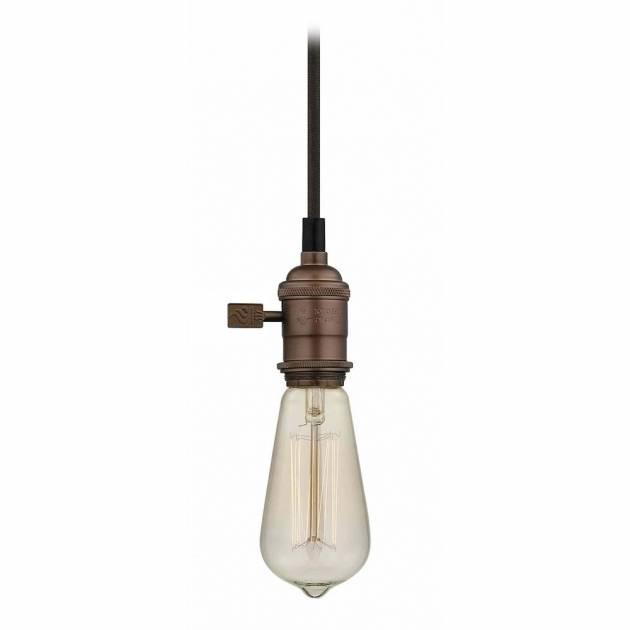 Incredible Vintage Squirrel Filament Bare Bulb Mini Pendant Light Regarding Bare Bulb Filament Pendants (#11 of 15)