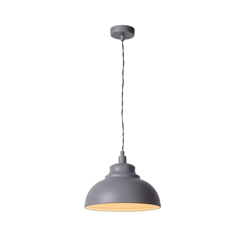 Isla Pendant – Grey – Lighting Direct Throughout Latest Ceiling Pendant Lights (#11 of 15)