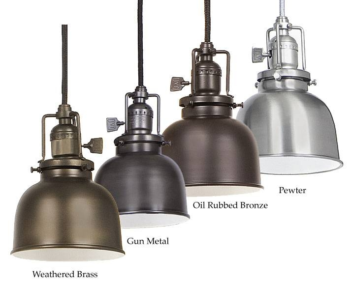 Inspiration about Jvi Designs 1200 M2 Union Square Mini 5 Inch Diameter Metal Shade Pertaining To Current 5 Inch Pendant Lights (#1 of 15)