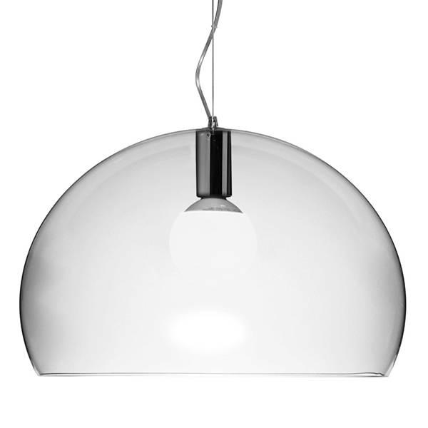 Kartell Fl/y Pendant Lamp, Crystal | Pendants | Lighting | Finnish In Best And Newest Kartell Pendants (#12 of 15)
