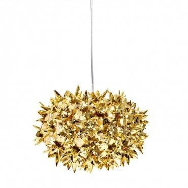 Kartell Small Bloom Pendant Gold – Abc Carpet & Home With Regard To Most Recently Released Kartell Pendants (#14 of 15)