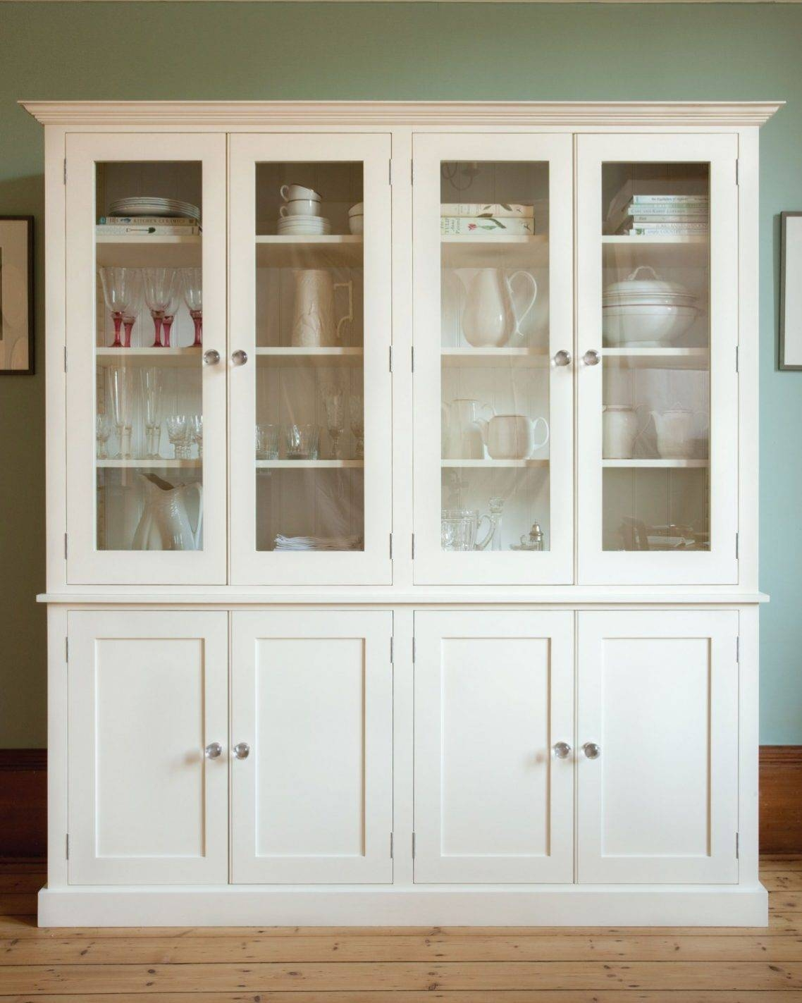 Kitchen: Alluring Free Standing Kitchen Cabinets Collections Set Throughout Free Standing Kitchen Sideboards (#8 of 15)