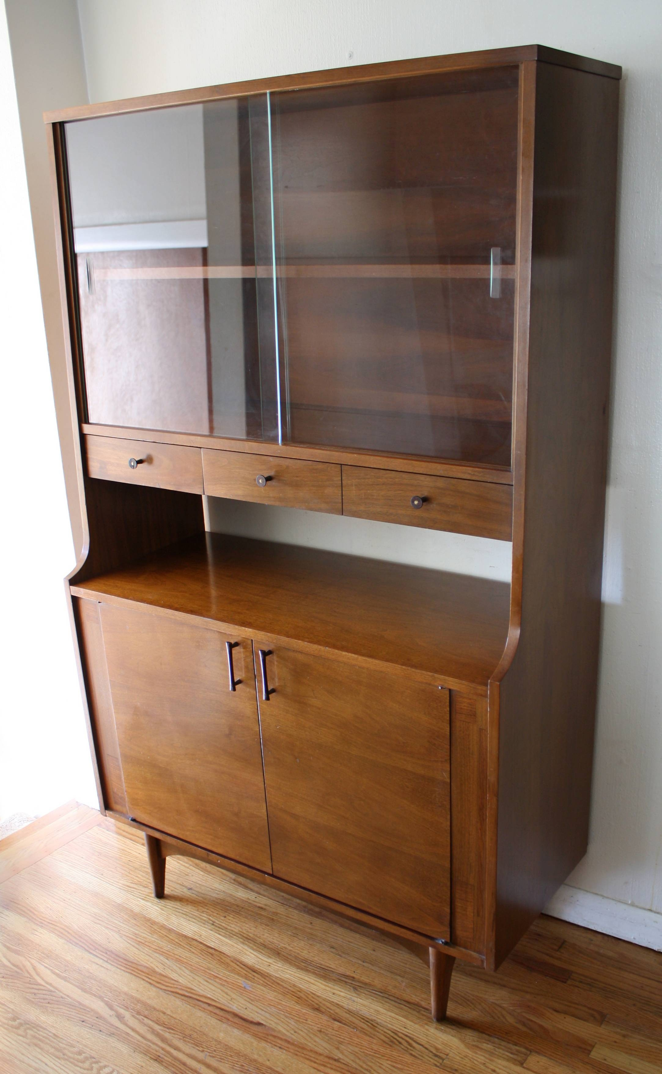 Kitchen : Black Sideboard Narrow Sideboard Small Sideboard Cabinet For Small Dark Wood Sideboards (#7 of 15)
