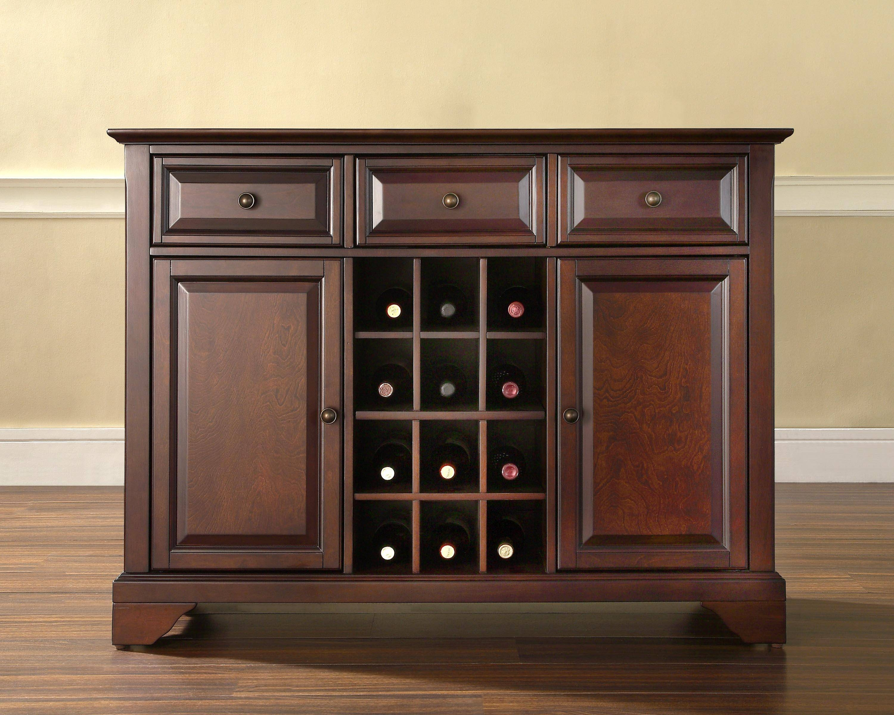 Kitchen : Buffet Kitchen Buffet Cabinet Kitchen Hutch Buffet For Buffets And Sideboards Tables (#8 of 15)