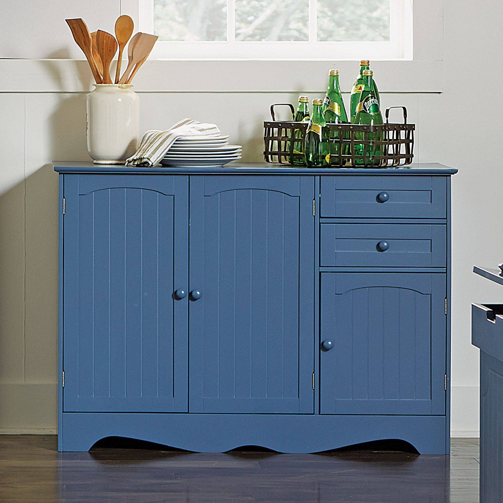 Kitchen : Contemporary Sideboards Buffet And Hutch Small Sideboard Pertaining To White Kitchen Sideboards (View 8 of 15)