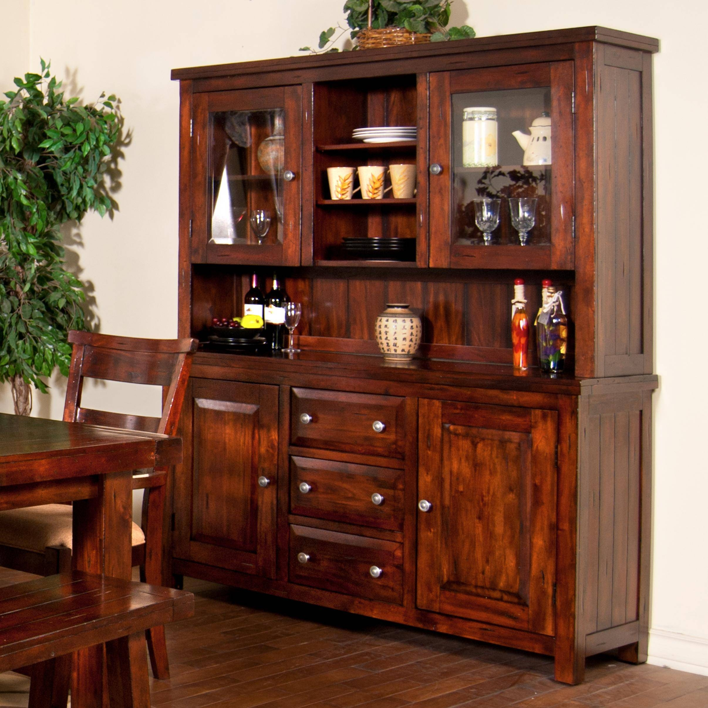 Kitchen : Large Sideboard Narrow Buffet Table Kitchen Hutch Pertaining To Large Sideboard Buffets (View 5 of 15)