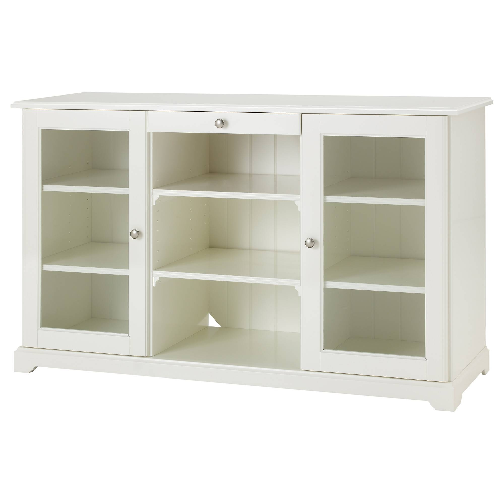 Kitchen : White Buffet Cabinet Sideboard Furniture Dining Hutch In Small White Sideboards (#4 of 15)