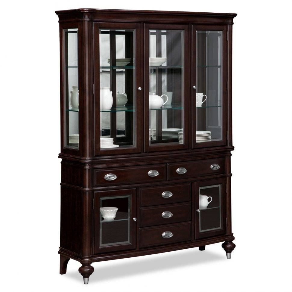 Kitchen : Wooden Sideboards Black Buffet Table Dining Room Server Regarding Small Dark Wood Sideboards (#9 of 15)