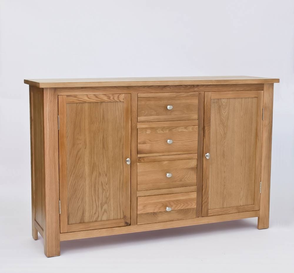 Lansdown Oak Large Sideboard (#5 of 15)