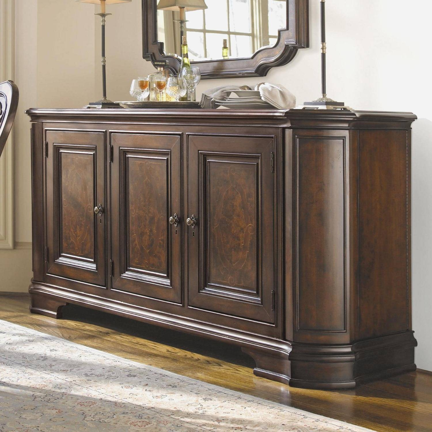 Large Buffets And Sideboards: Large Buffets And Sideboards Great With Sideboards And Cabinets (View 7 of 15)