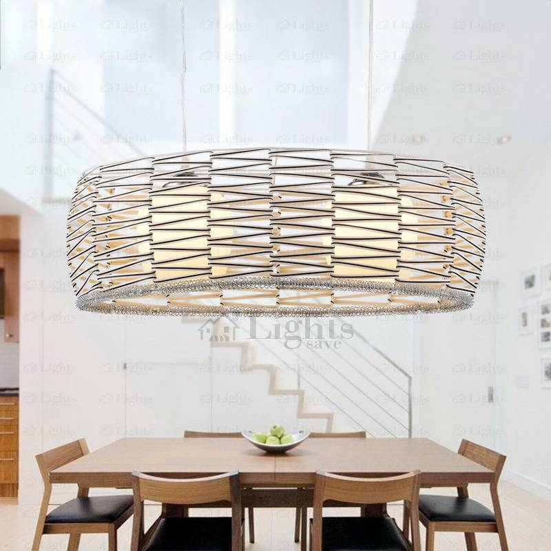 Large Pendant Lighting For Dining Room Within Most Popular Large Pendant Lights (#8 of 15)