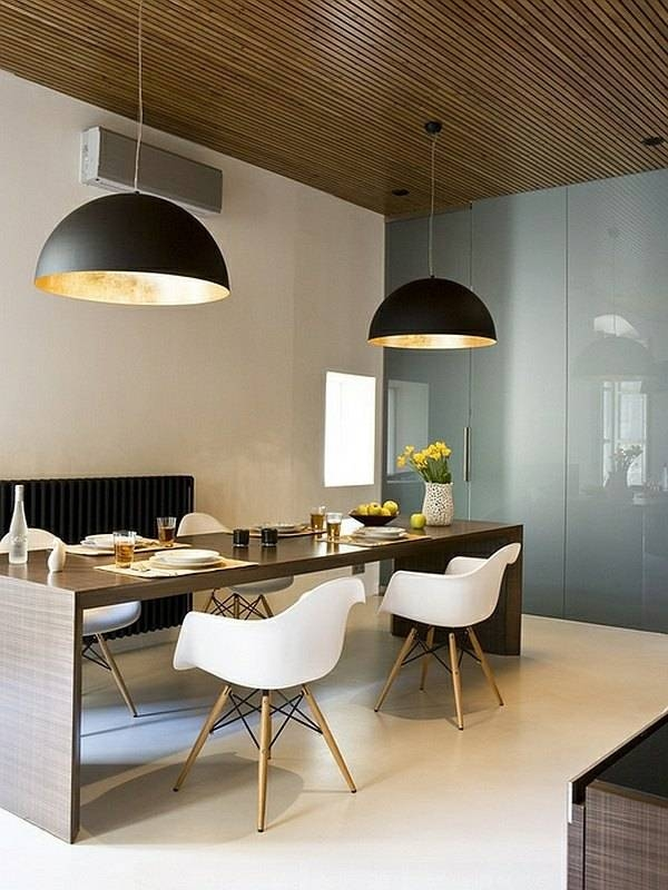 Large Pendant Lights In The Dining Room – Modern Pendant Lamps With Regard To Best And Newest Giant Pendant Lights (#12 of 15)