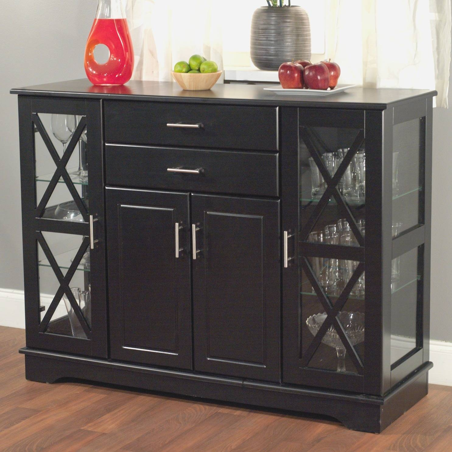Large Sideboards And Buffets: Large Sideboards And Buffets Throughout Tall Sideboards (#6 of 15)
