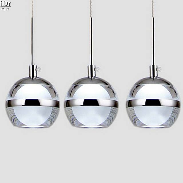 Led Ceiling Creative Acrylic Bowl Restaurant Dining Room Lights With Regard To Best And Newest Apple Pendant Lights (View 4 of 15)