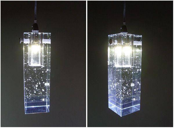 Led Crystal Pendant Lighting : Awesome Crystal Pendant Lighting Intended For 2018 Crystal Led Pendant Lights (View 8 of 15)