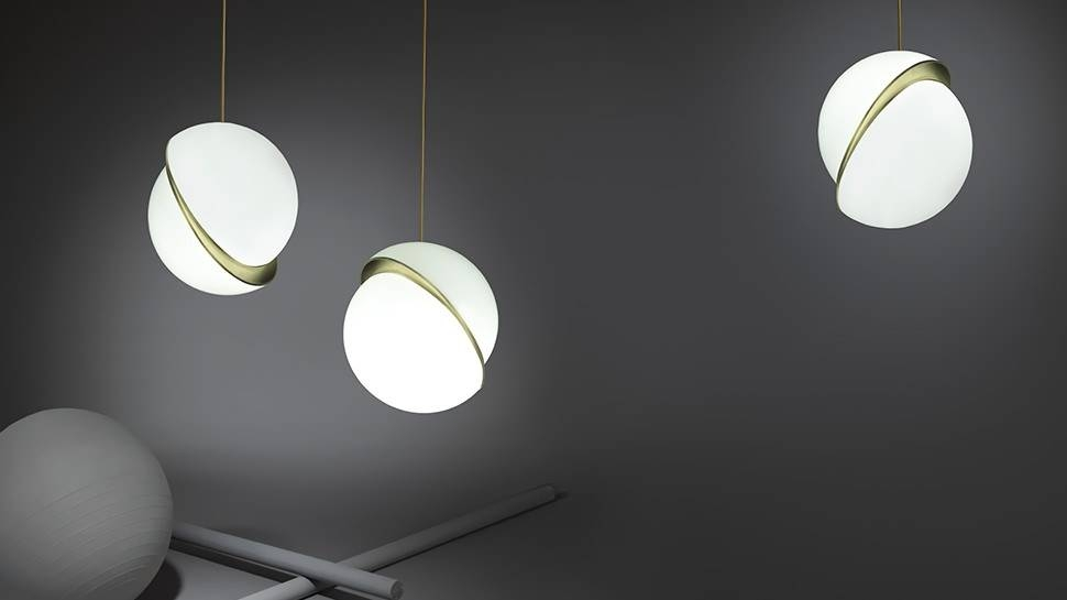 Lee Broom Inside Current Crescent Pendant Lights (#12 of 15)
