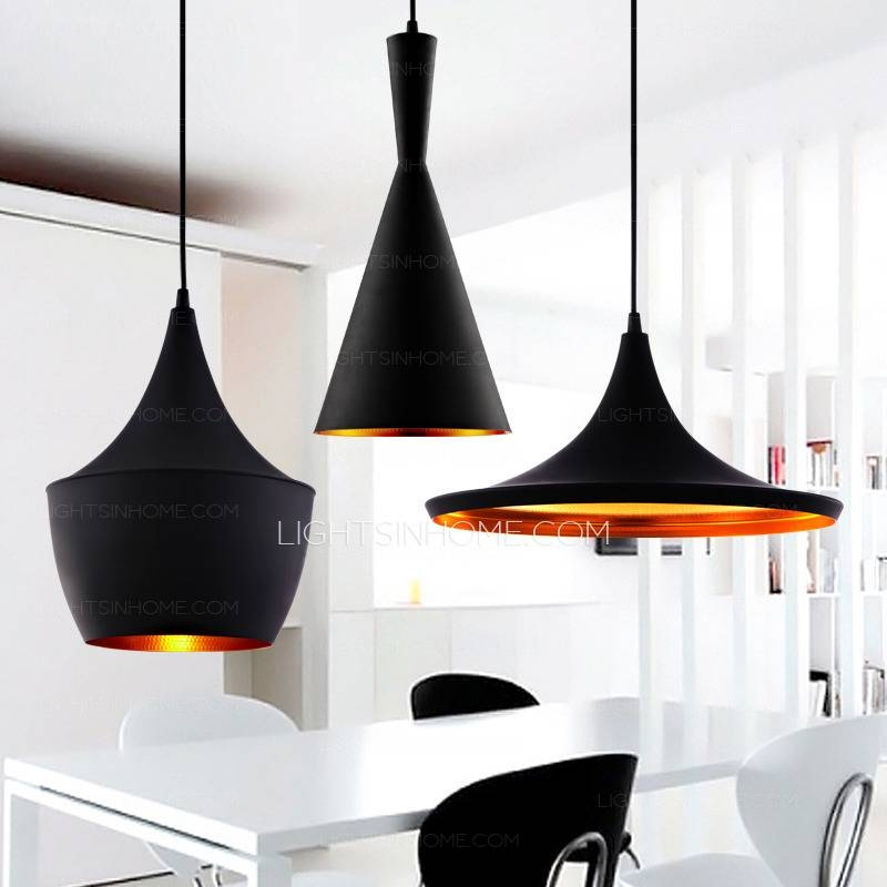 Light Black Color Shade Vintage Kitchen Italian Pendant Lights Throughout 2017 Italian Pendant Lighting (View 13 of 15)