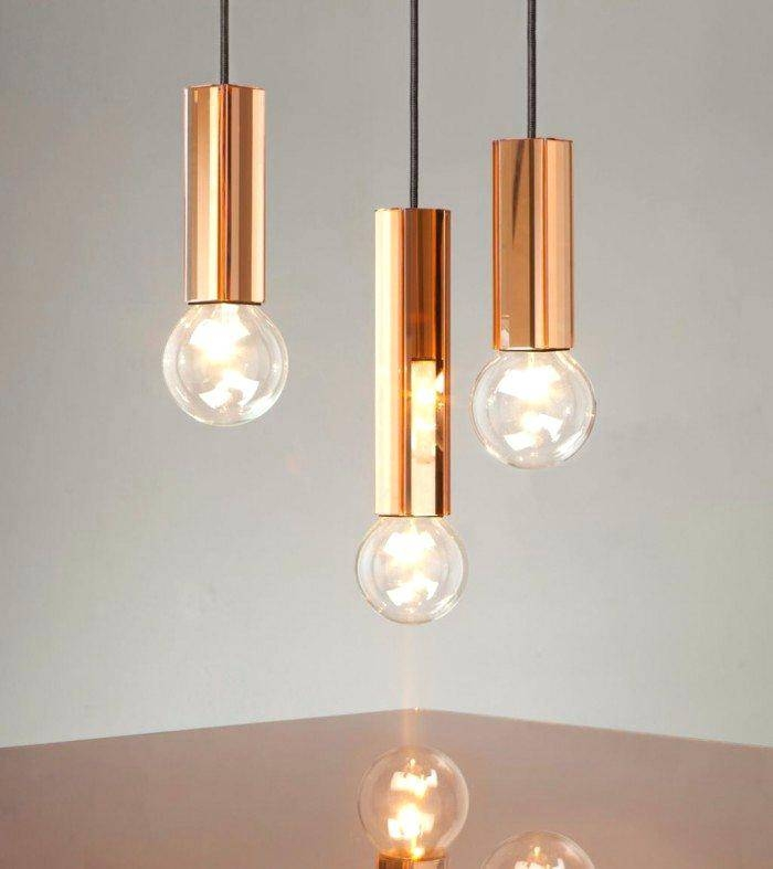 Light Bulb Pendants A Twist On The Boring Bare Bulb Light Bulb In Recent Bulb Pendants (#13 of 15)