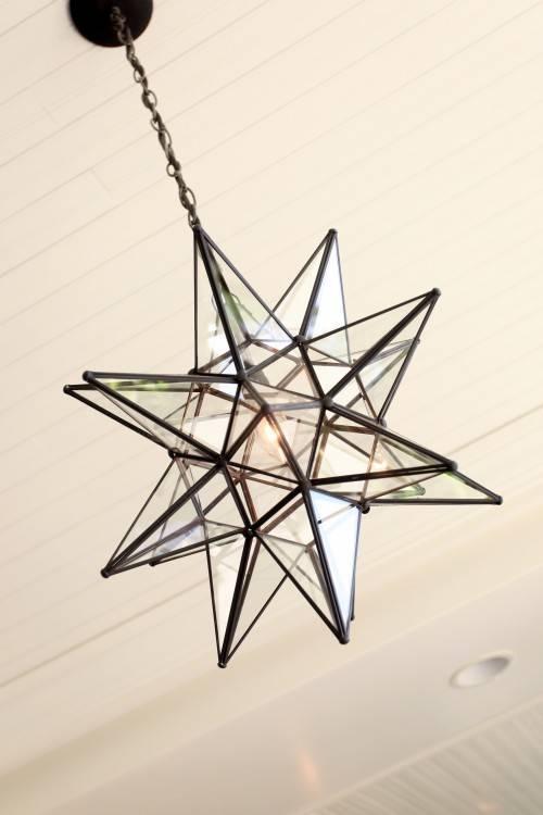 Light Fixtures: Star Light Fixture Example Detail Ideas Design Inside 2018 Star Pendant Lights (#9 of 15)