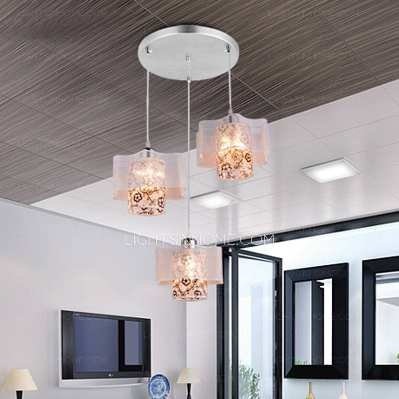 Light Silver Fixture Beautiful Style Hanging Pendant Lights In Most Up To Date Beautiful Pendant Lights (#10 of 15)