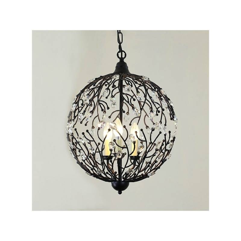 Lighting – Ceiling Lights – Pendant Lights – American Country Within Wrought Iron Pendant Lights (View 4 of 15)