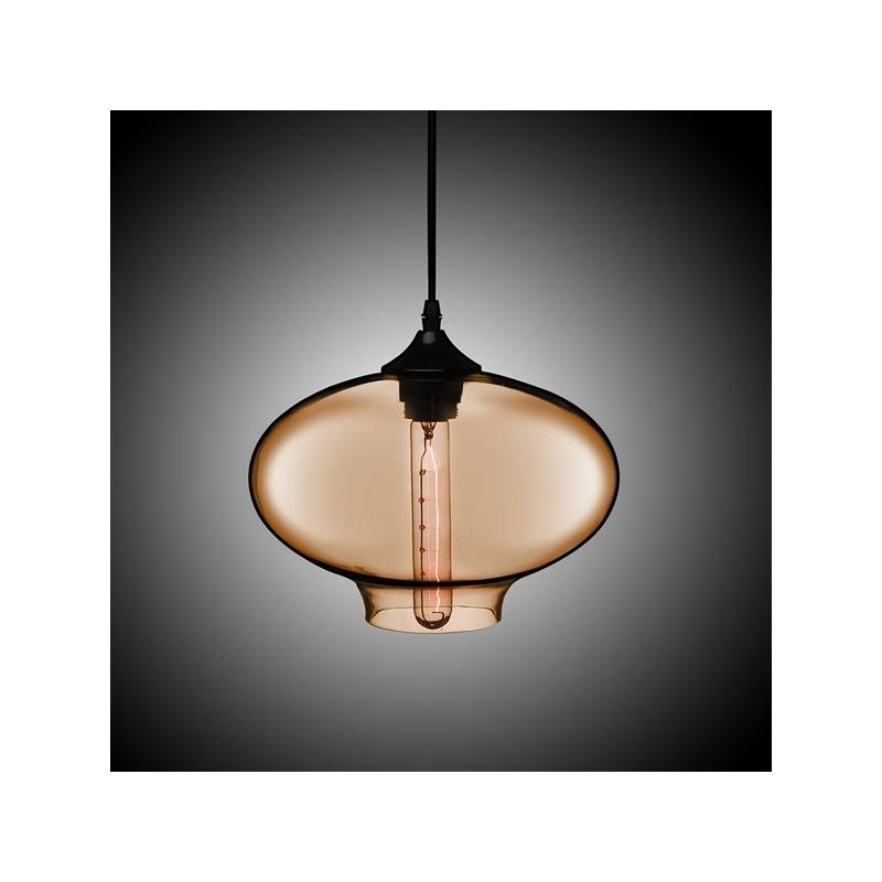 Lighting – Ceiling Lights – Pendant Lights – (In Stock) Hand Blown Throughout Latest Glass Bowl Pendant Lights (#10 of 15)