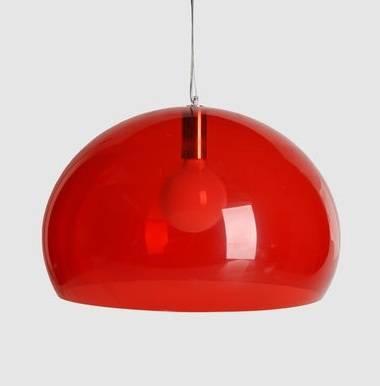Lighting: Red Chandeliers & Pendants – Remodelista Within Most Recently Released Kartell Pendants (#15 of 15)