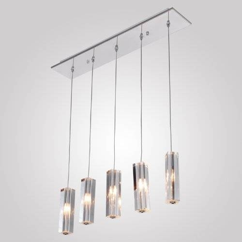 Lightinthebox Stainless Steel 5 Light Mini Bar Pendant Light With For Stainless Steel Pendant Light Fixtures (View 9 of 15)