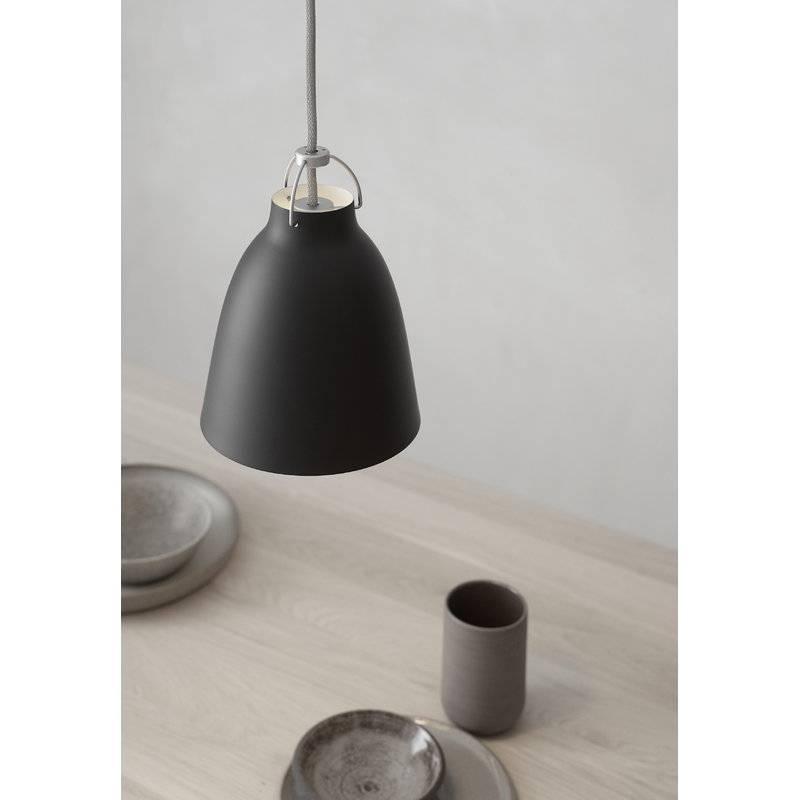 Lightyears Caravaggio P1 Pendant, Matt Black | Finnish Design Shop Pertaining To 2017 Caravaggio Pendants (#14 of 15)