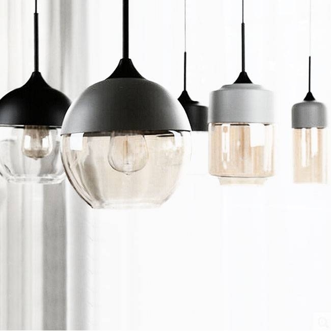 Loft Crystal Shade Pendant Lighting 8109 Browse Project Lighting Inside Best And Newest Modern Glass Pendant Lights (#9 of 15)