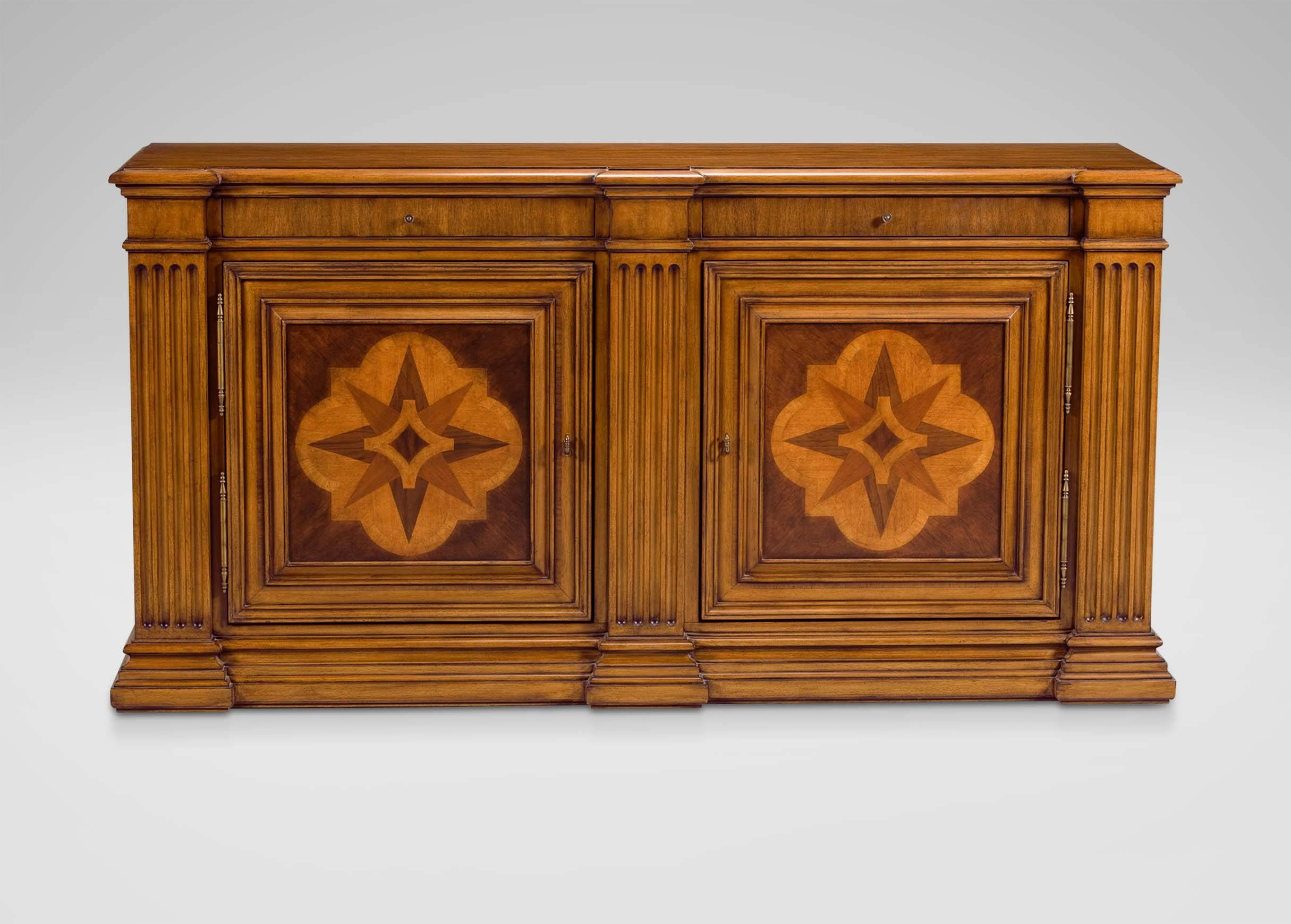 Lombardy Marquetry Sideboard | Buffets, Sideboards & Servers Throughout Tuscany Sideboards (#2 of 15)