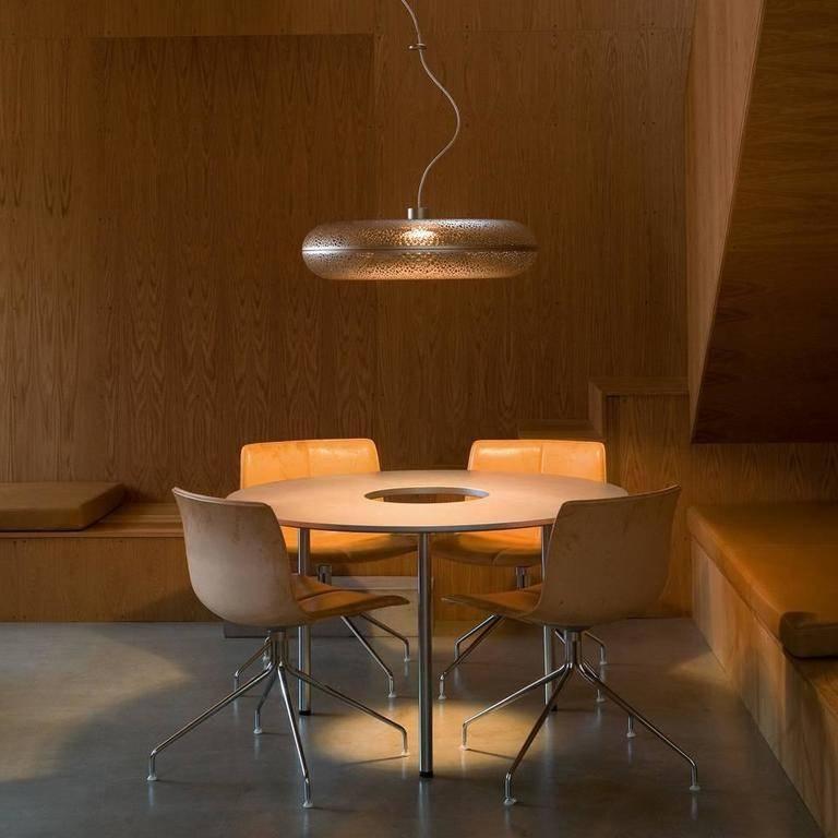 Louis Poulsen Gold Aeros Suspension Pendant Lamp Chandelier Inside Recent Louis Poulsen Pendant Lights (#8 of 15)