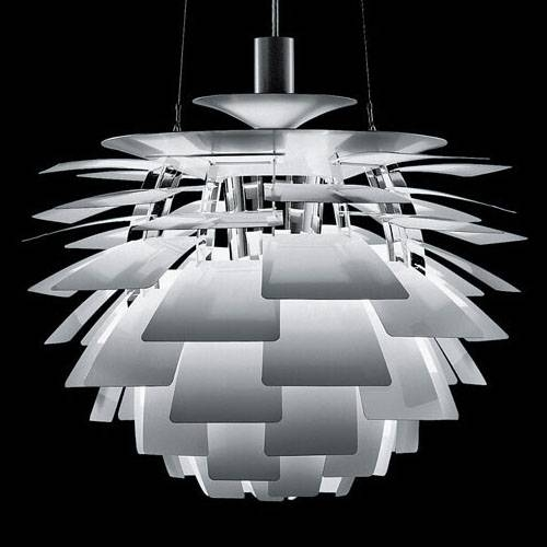 Louis Poulsen® Large Arhitectural Ph Artichoke Modern Danish Lamp Inside 2018 Louis Poulsen Artichoke Pendants (#10 of 15)