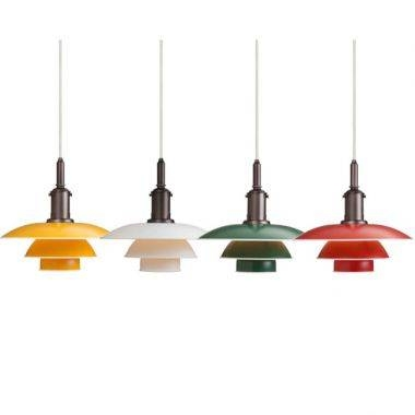 Louis Poulsen Ph 3 1/2 3 Danish Mid Century Modern Pendant Light Intended For 2018 Danish Pendant Lighting (#9 of 15)