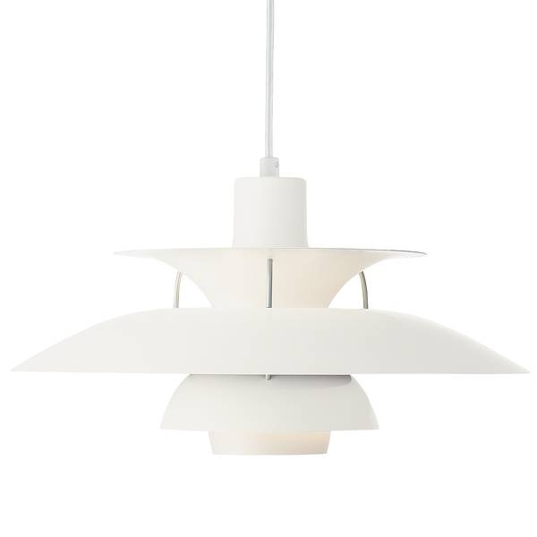 Louis Poulsen Ph 50 Pendant, Coconut White | Finnish Design Shop With Regard To Current Louis Poulsen Pendants (#8 of 15)