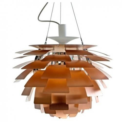 Louis Poulsen Ph Artichoke Pendant Lamp Copperpoul Henningsen Regarding 2017 Artichoke Pendant Lights (View 7 of 15)