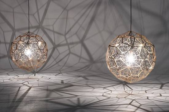 Lucretia Lighting | Tailored Designer Lighting Solutions | Replica Inside Most Recent Tom Dixon Etch Web Pendants (#9 of 15)